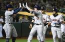 Estrada's shaky start dooms A's in loss to Astros