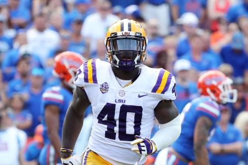 Daniel Jeremiah mocks LSU linebacker Devin White to the Broncos in his latest mock draft