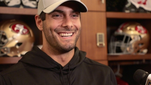 49ers Jimmy Garoppolo's comeback to come with knee brace