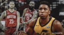 Jazz guard Donovan Mitchell to make adjustments in Game 2 vs. Rockets, says biggest thing for him is 'to find the open man'