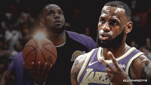 Lakers' LeBron James reacts to being included on Time's 100 Most Influential People of 2019