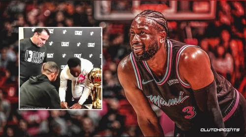 Video: Dwyane Wade signed autographs for every Heat employee as a farewell