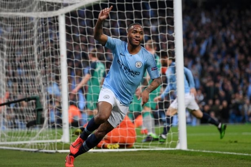 Raheem Sterling posts message to Man City fans after Champions League exit