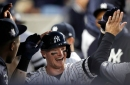 Clint Frazier lighting up Yankees' 'Night Club' along with Brett Gardner