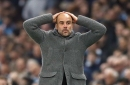 Heartbroken Man City fans rally behind Pep Guardiola's side following Champions League exit