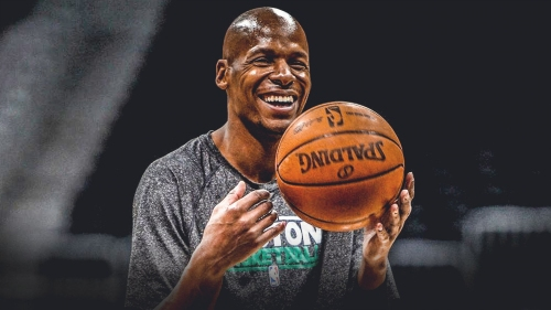 Ray Allen reacts to Paul Pierce's comments on Dwyane Wade