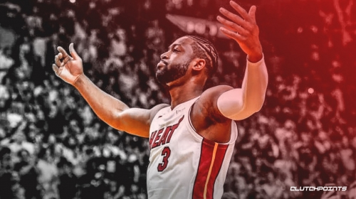 Dwyane Wade gives special thank you to Miami employees at AmericanAirlines Arena