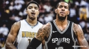 LaMarcus Aldridge will face no discipline for below-the-belt contact against Gary Harris