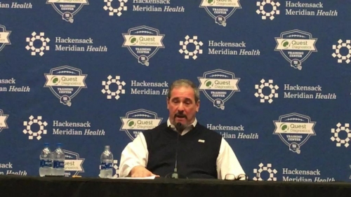 NY Giants general manager Dave Gettleman talks NFL Draft