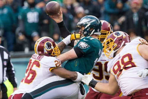 NFL Odds: Redskins open Week 1 as the biggest underdogs of the week against the Eagles in Philly