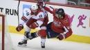 Hurricanes' Jordan Martinook leaves Game 4 with lower-body injury