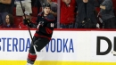 Teravainen, Hurricanes top Capitals to even series at 2-2