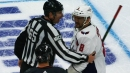 Ovechkin livid after Oshie takes hit from behind from Foegele