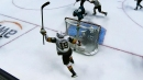 Blind backhand pass turns into lucky goal for Reilly Smith