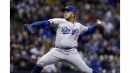 Julio Urias allows just one hit in six innings as Dodgers beat Brewers