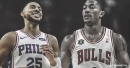 Sixers' Ben Simmons joins Derrick Rose as only players this decade to finish with 30+ points, 9+ assists in playoff game before 23rd birthday