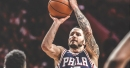 Sixers gets 3 25-point scorers in a playoff game for 1st time since 1978