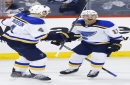 Blues' Bortuzzo a late scratch, Gunnarsson gets the call