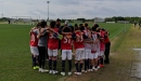 FC Dallas U14s eliminated on a rainy day at the Dallas Cup, most games canceled