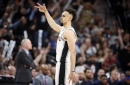 Derrick White had a career night in the Spurs' Game 3 win over the Nuggets