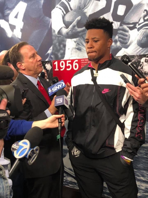 Saquon Barkley: I'll continue to prove to NY Giants they drafted the right guy last year