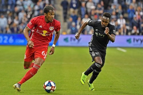 Red Bulls preparing to play the Revolution