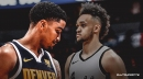 Gary Harris says the whole Nuggets team is taking Derrick White's career game personally