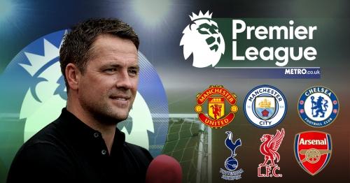 Michael Owen's Premier League predictions including Arsenal, Man Utd, Liverpool & Chelsea