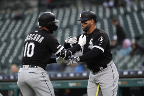 Moncada hits long homer as White Sox beat Tigers 7-3