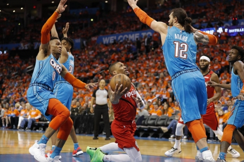 Recap: Blazers Fall to Thunder 120-108 In Game 3