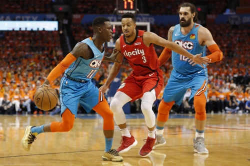 Thunder's Role Players Arrive, Blazers Suffer Defeat in Game 3
