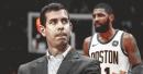 Celtics' Brad Stevens praises 'ridiculous' Kyrie Irving, says his clutch floater was a 'joke'