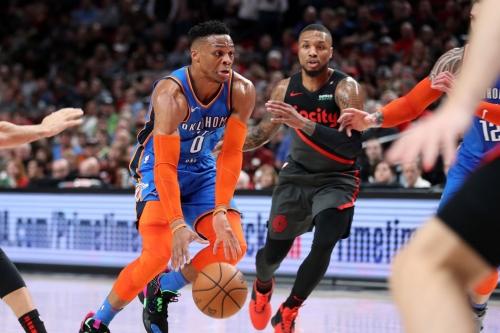 Nadkarni: Blazers vs. Thunder Reached an 'Absurd' Level of Entertainment