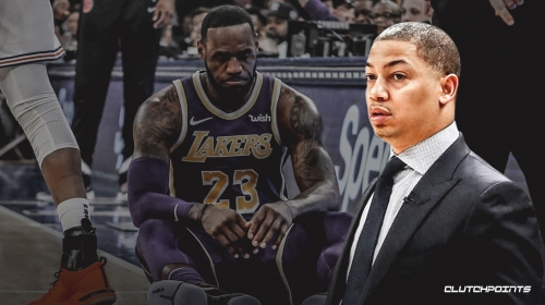 Tyronn Lue may sell himself as someone who was hard on LeBron James, thus earning star's respect