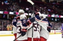 Monsters score five goals to beat the Crunch