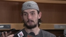 Hellebuyck calls 2nd Blues goal 'definition of goalie interference'
