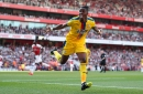 Roy Hodgson opens up on Wilfried Zaha's future after Crystal Palace stun Arsenal