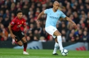 Manchester United vs Man City highlights and reaction as Leroy Sane and Bernardo Silva score