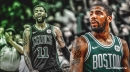 Celtics' Kyrie Irving reiterates belief that 'it's an even playing field' in the playoffs