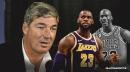 Bill Laimbeer unsurprisingly picks Lakers' LeBron James over Michael Jordan as GOAT