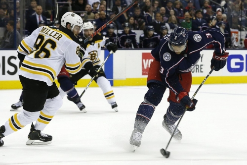A battle of D: Previewing defensive pairings between the Blue Jackets and Bruins