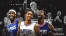 Lou Williams, Montrezl Harrell, Patrick Beverley's on extending Ralph Lawler's career one more game