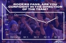 Rockies fan confidence on the rebound