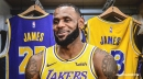 LeBron James has the most popular jersey in 2018-19