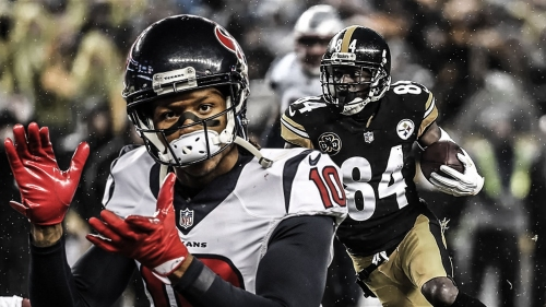 Texans' Deandre Hopkins reacts to Antonio Brown saying he is the best wide receiver in the NFL