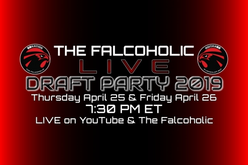 The Falcoholic Live's Draft Party 2019, Day 1