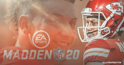 Chiefs QB Patrick Mahomes named Madden 20's cover athlete