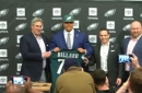 Eagles first-round pick Andre Dillard talks about his game, development, and warm welcome from Philly fans