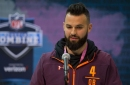 West Virginia quarterback Will Grier selected by the Carolina Panthers in NFL Draft third round