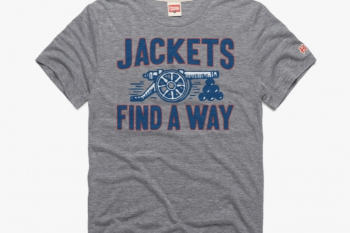 """""""Jackets Find a Way"""" Buy the latest CBJ shirt from Homage"""